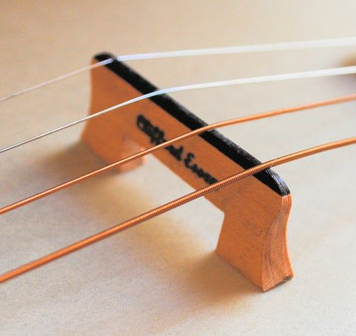 THE IMPERIAL BANJO BRIDGE FOR STEEL STRINGS.