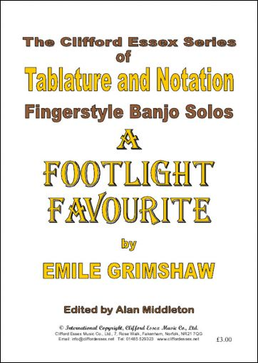 A FOOTLIGHT FAVOURITE BY EMILE GRIMSHAW.