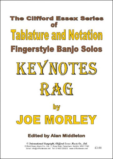 KEYNOTES RAG BY JOE MORLEY.