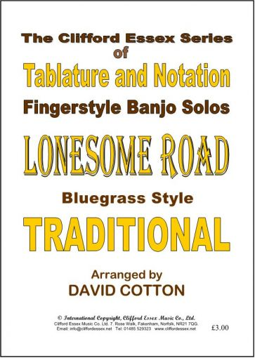LONSOME ROAD. TRADITIONAL.