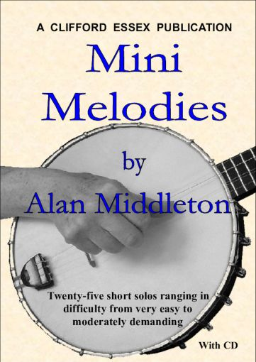 MINI MELODIES. 25 MINI MELODIES WRITTEN IN NOTATION & TAB. WITH CD.
