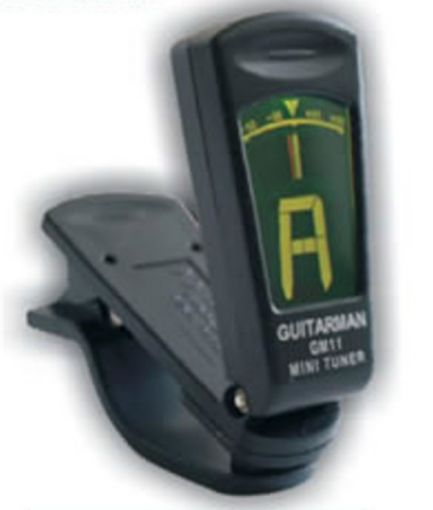 CLIP ON MINI ELECTRONIC TUNER.