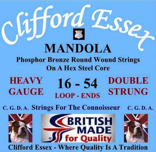 MANDOLA. HEAVY GAUGE. 16 - 54. LOOP OR BALL-ENDS.
