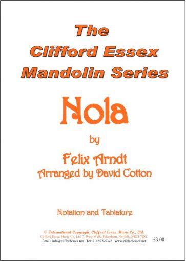 NOLA BY FELIX ARNDT ARRANGED BY DAVID COTTON.