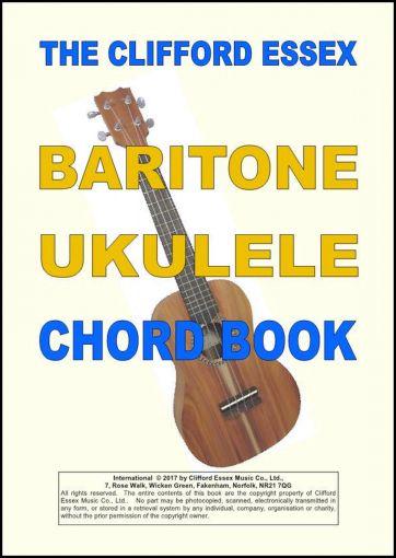 Baritone ukulele chord book, DGBE tuning, a thorough and ...